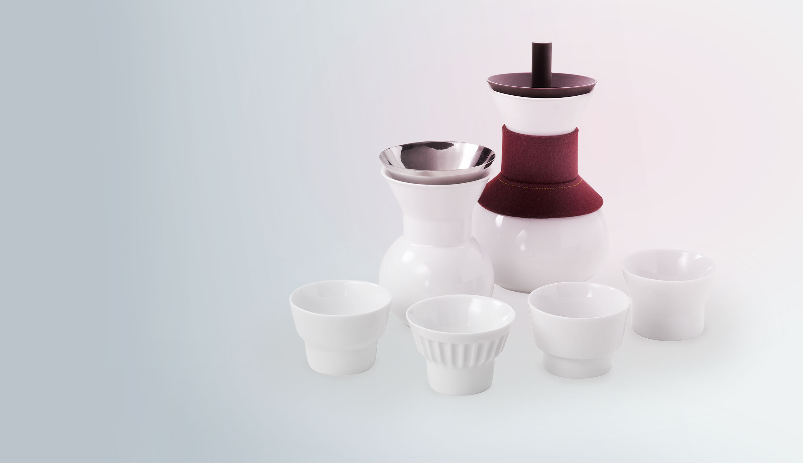 Greedy Mandarin Tea Set, Jia Inc.