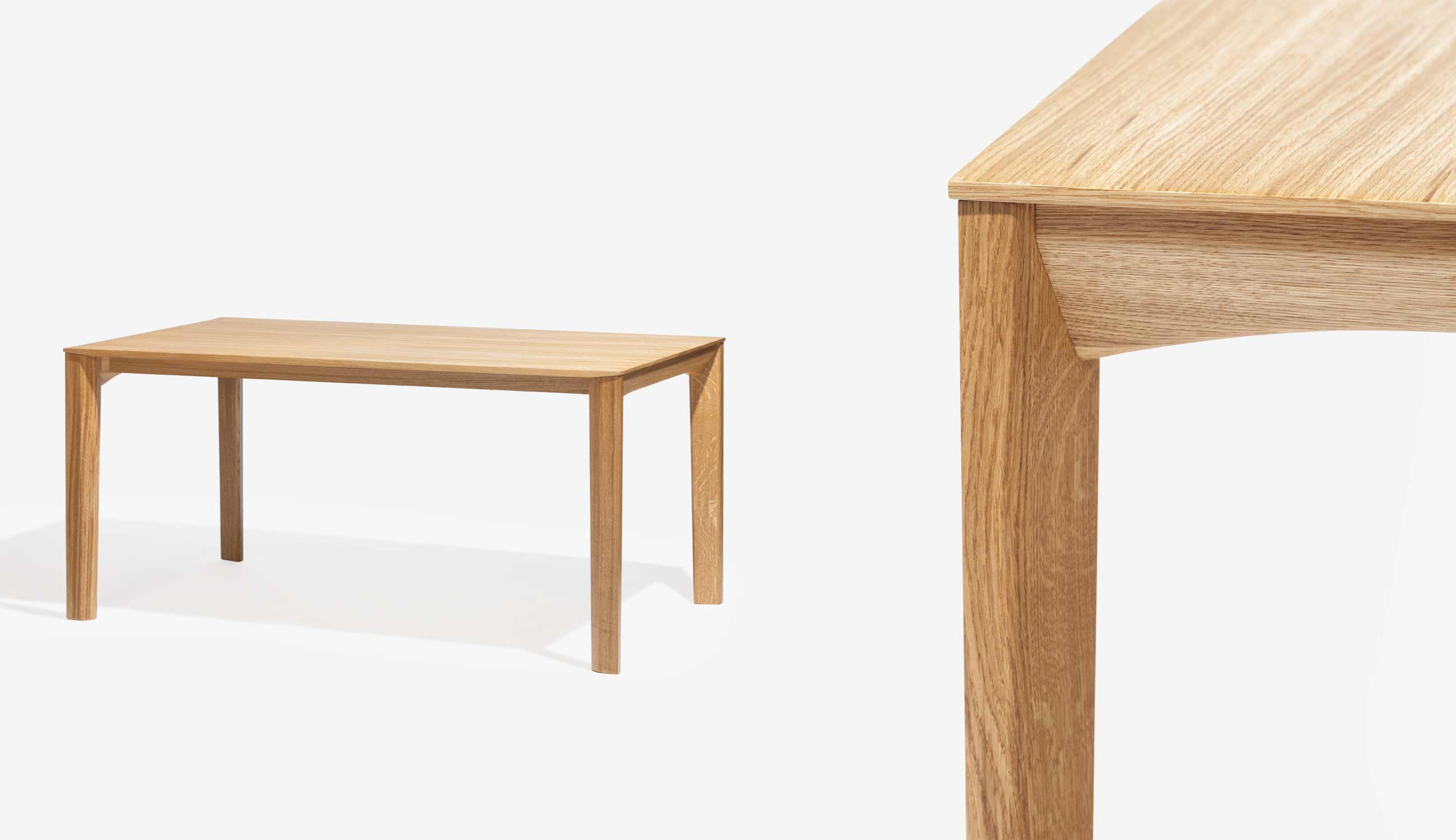 Trapez dining table, Ton